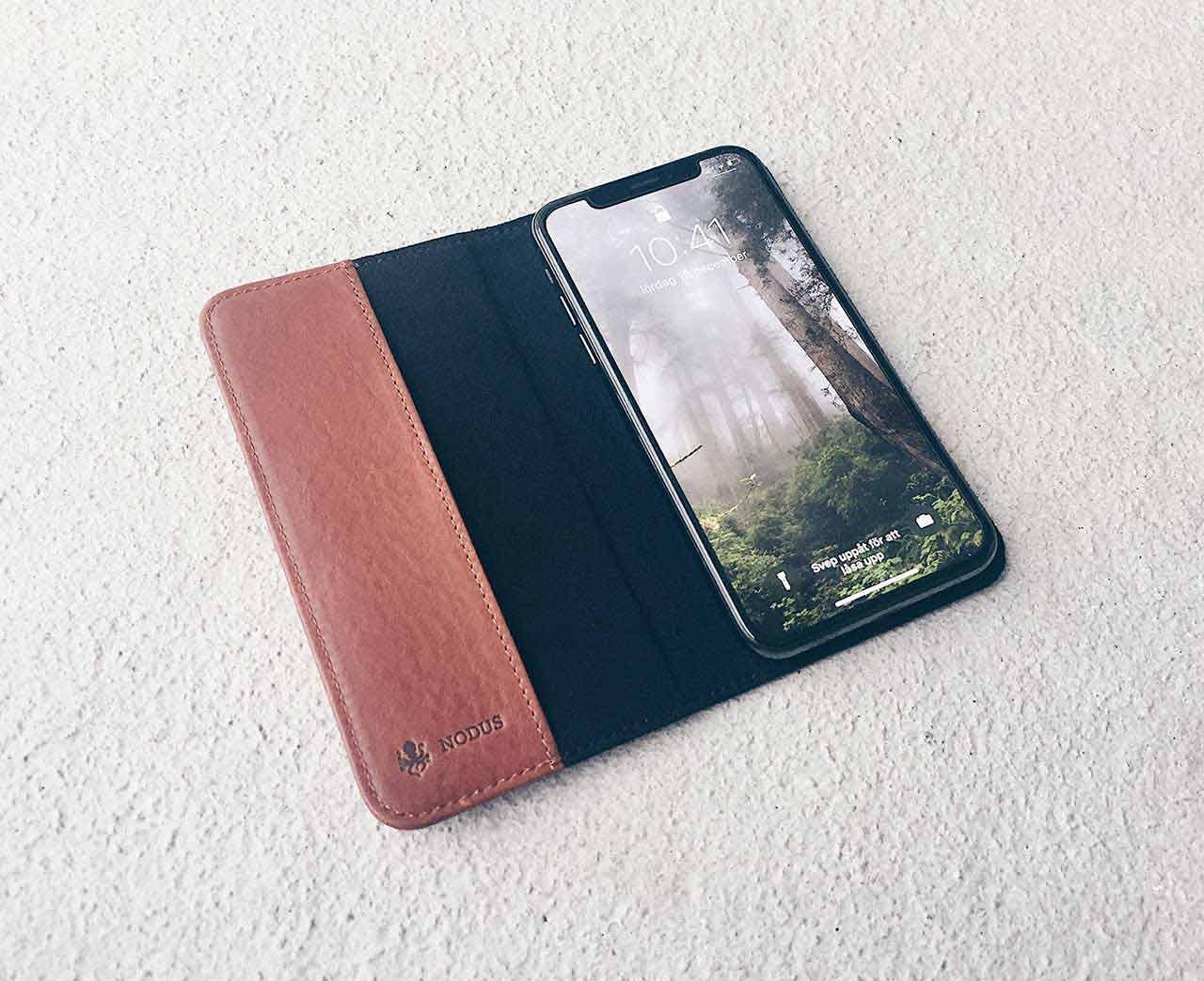 Access Case 3 är ett plånboksfodral till iPhone X