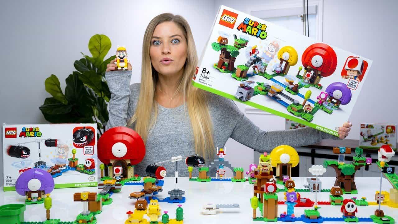En första titt på nya Super Mario LEGO