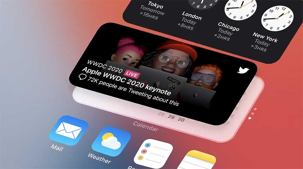Nyheterna i iOS 14