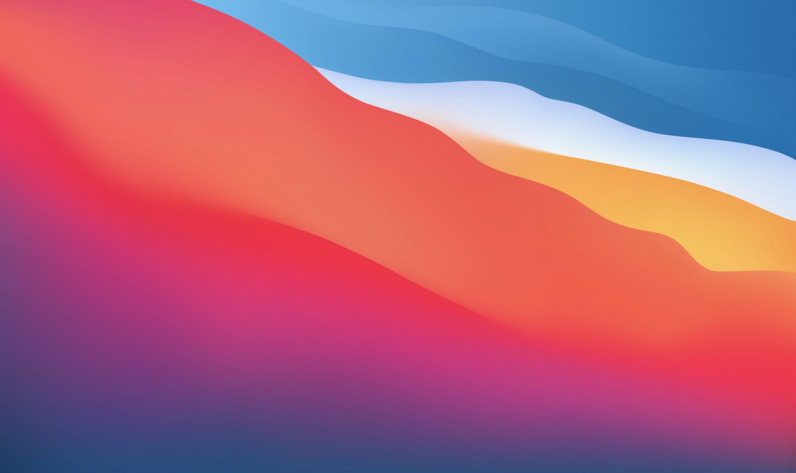 Ladda ner bakgrundsbilden från macOS Big Sur