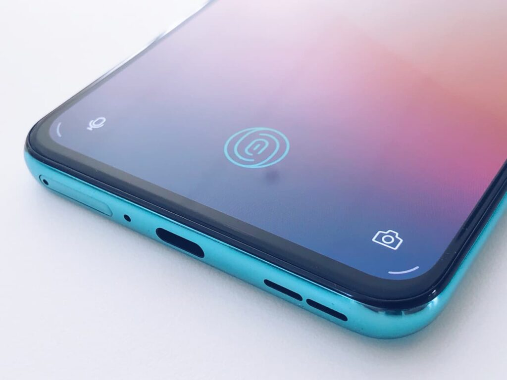 Fingerupplåsning OnePlus Nord