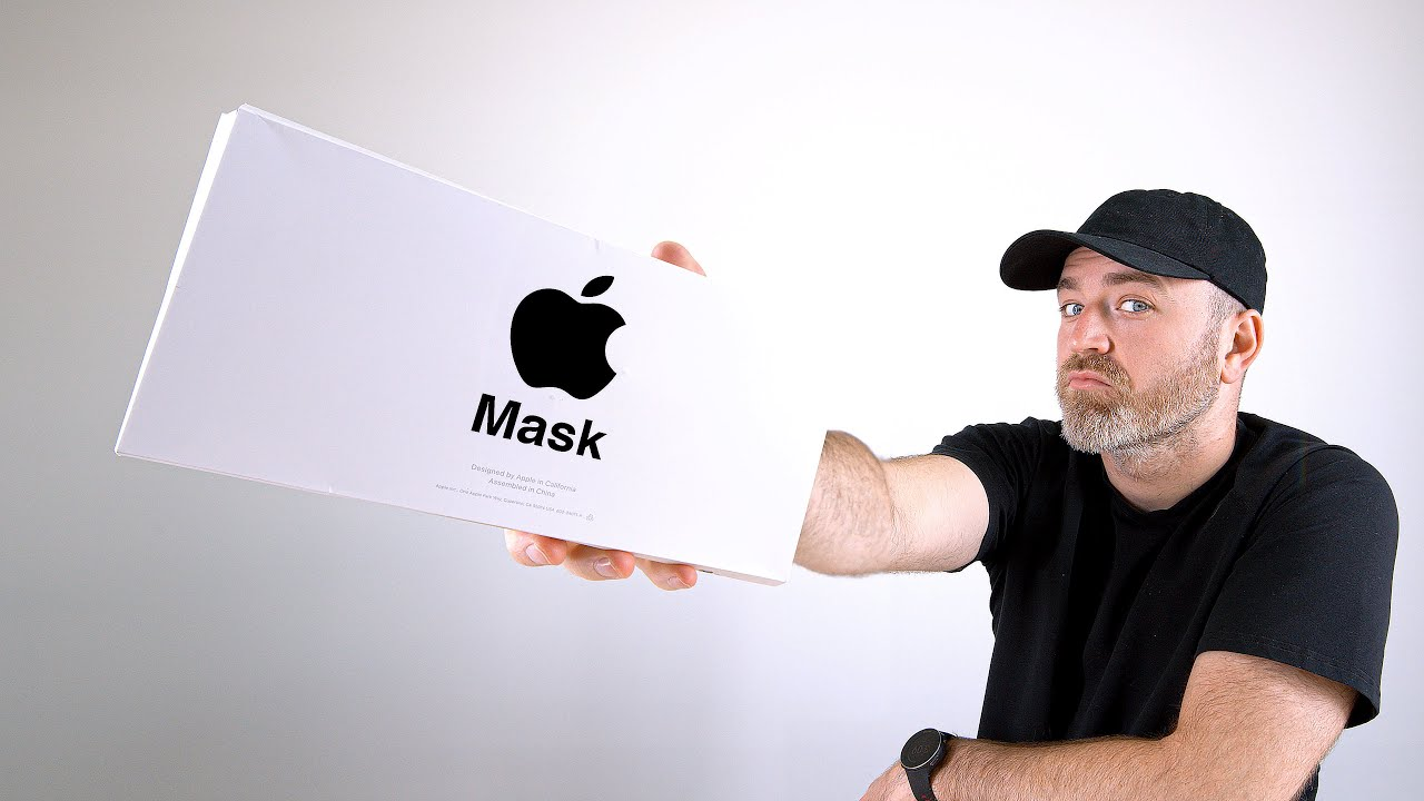Unboxing av Apples ansiktsmask