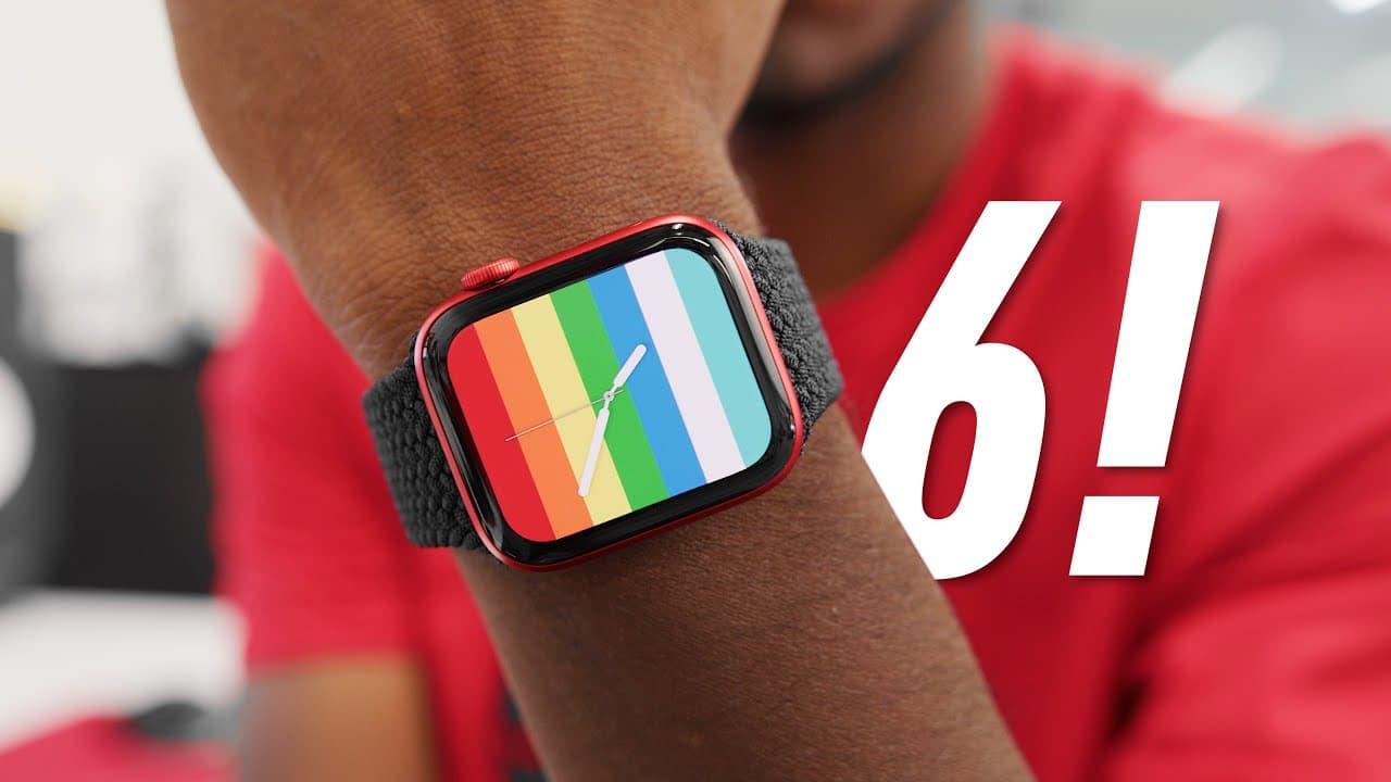 MKBHD testar Apple Watch Series 6