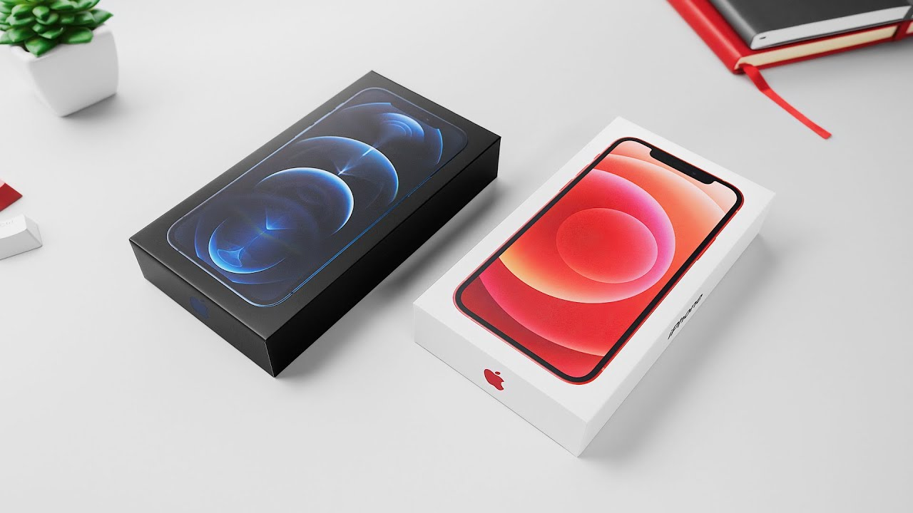 MKBHD packar upp iPhone 12
