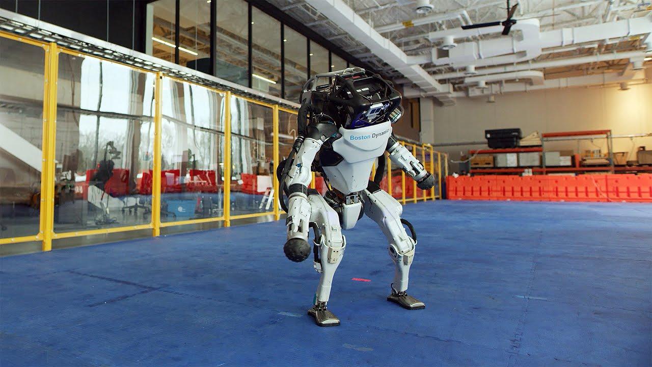 Robotarna från Boston Dynamics dansar till Do You Love Me