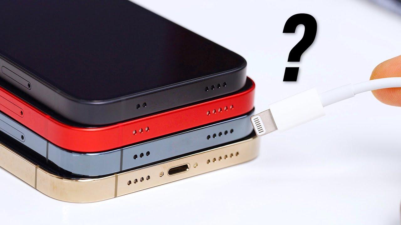 Saknar nästa iPhone laddningsport?