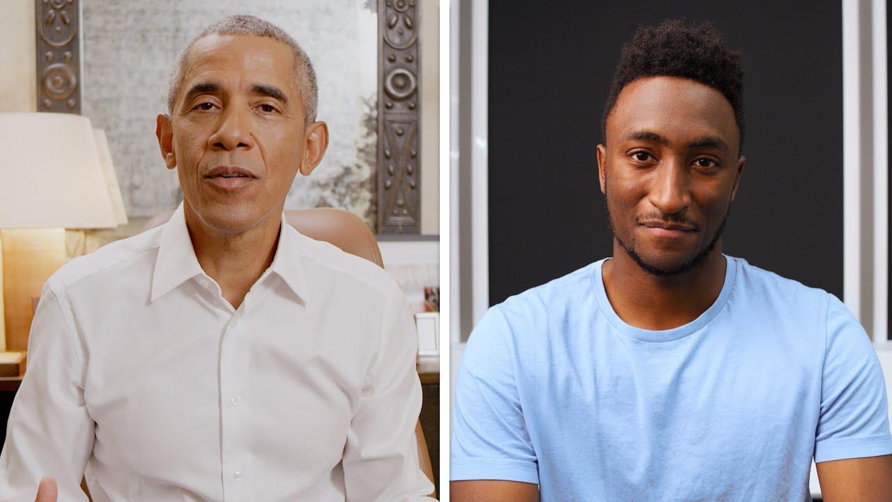 MKBHD pratar med Barack Obama