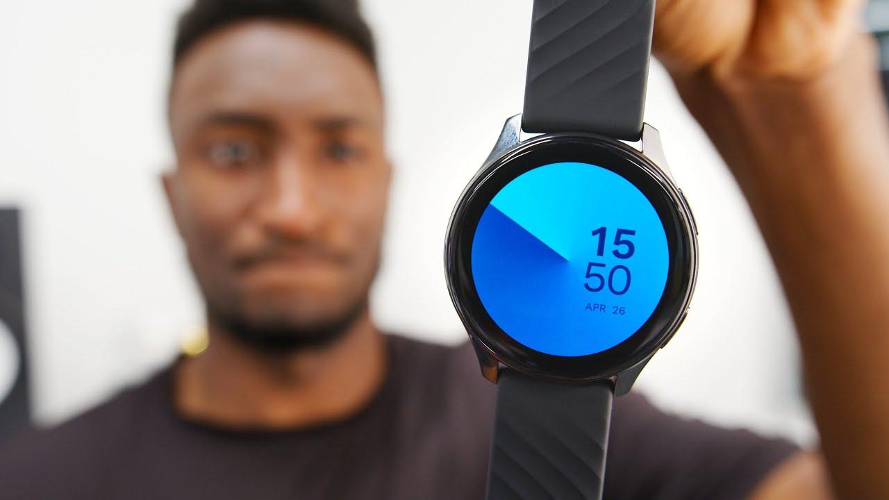 MKBHD är inte imponerad av OnePlus Watch