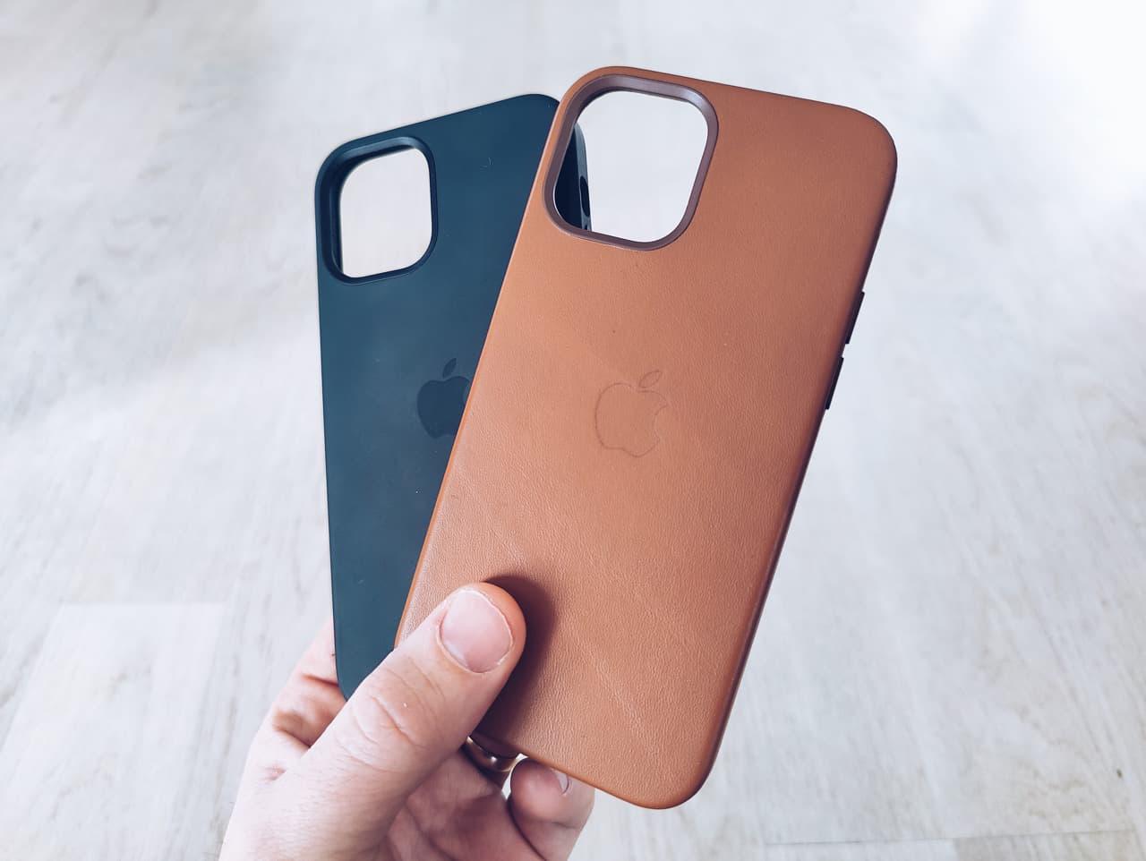 Recension av Apples läder- och silikonskal till iPhone 12 efter 3 månader av användning