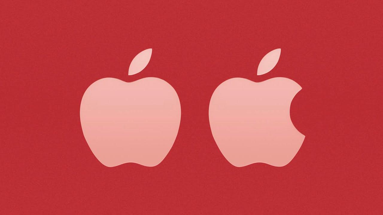 Varför det saknas en liten bit i Apples logo