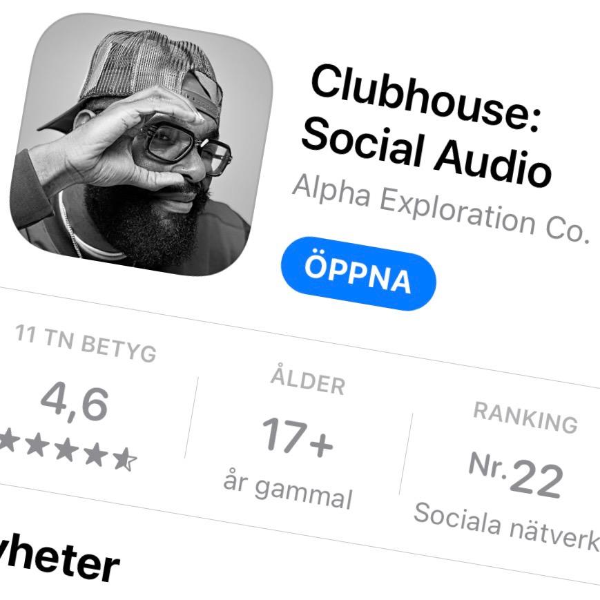 Nu är Clubhouse öppen för alla