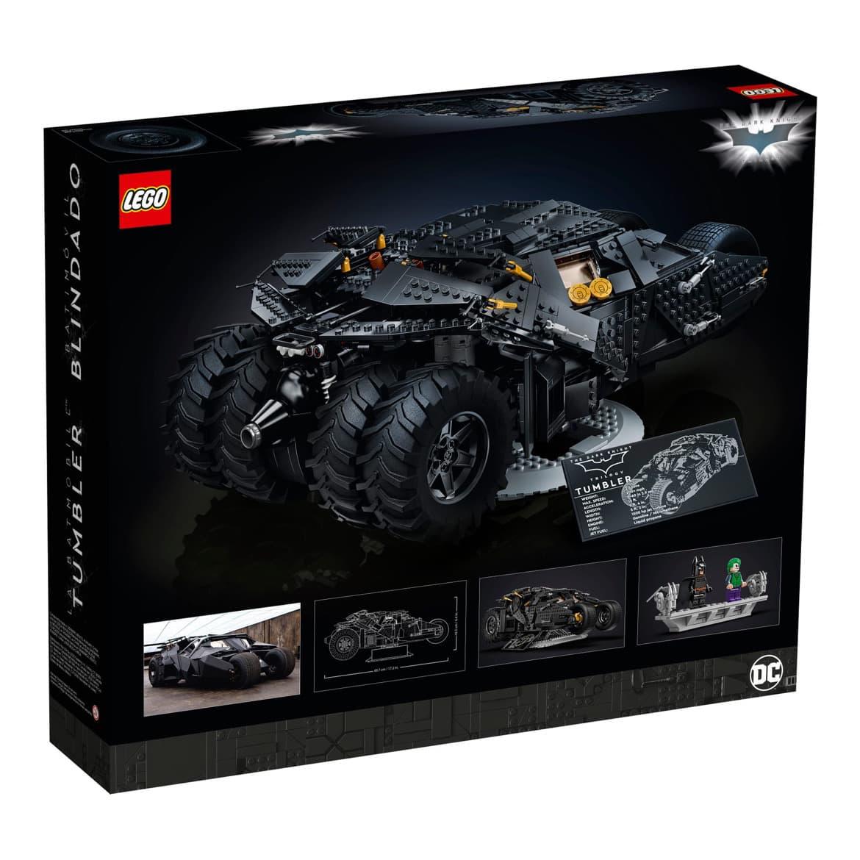 Batmans Tumbler kommer som Lego-modell