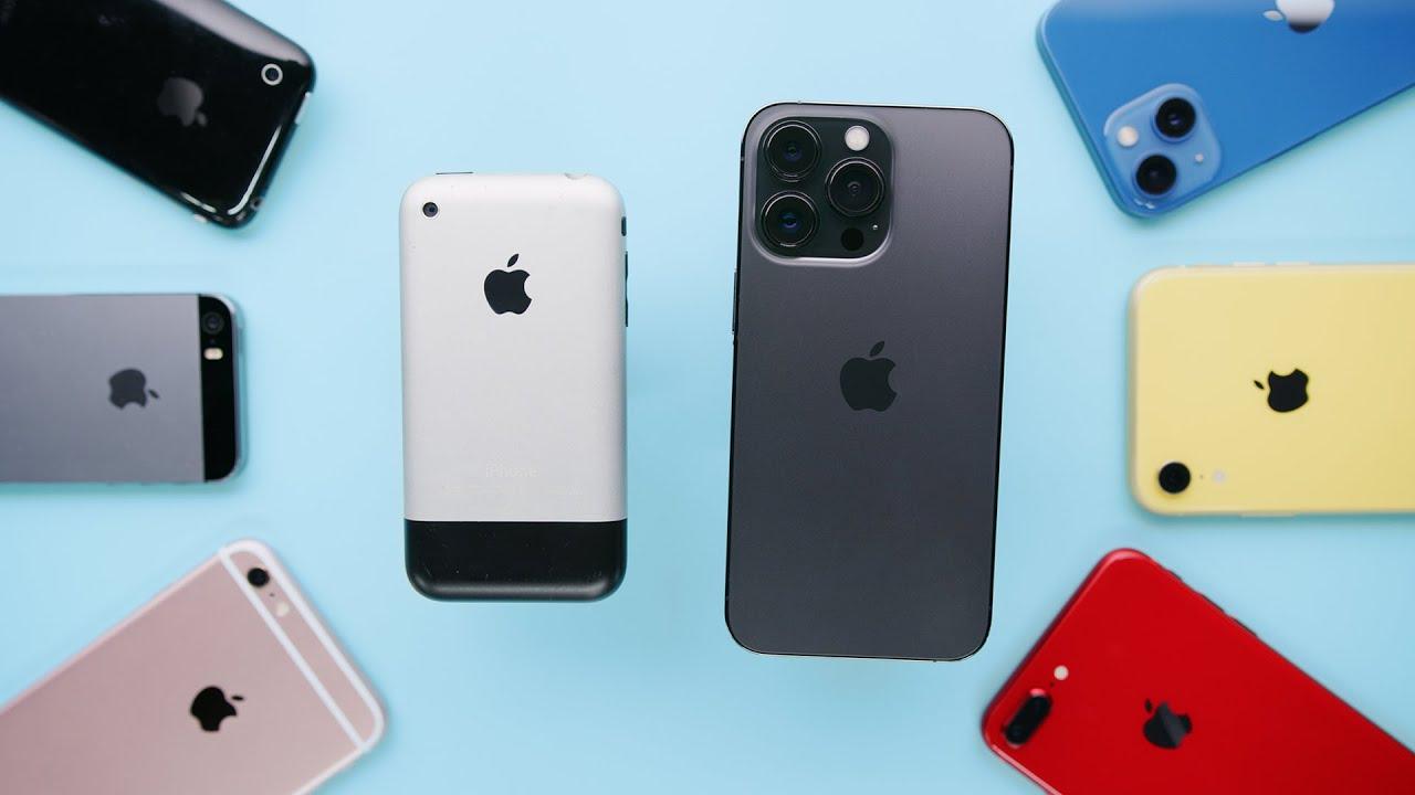Recension av samtliga iPhones