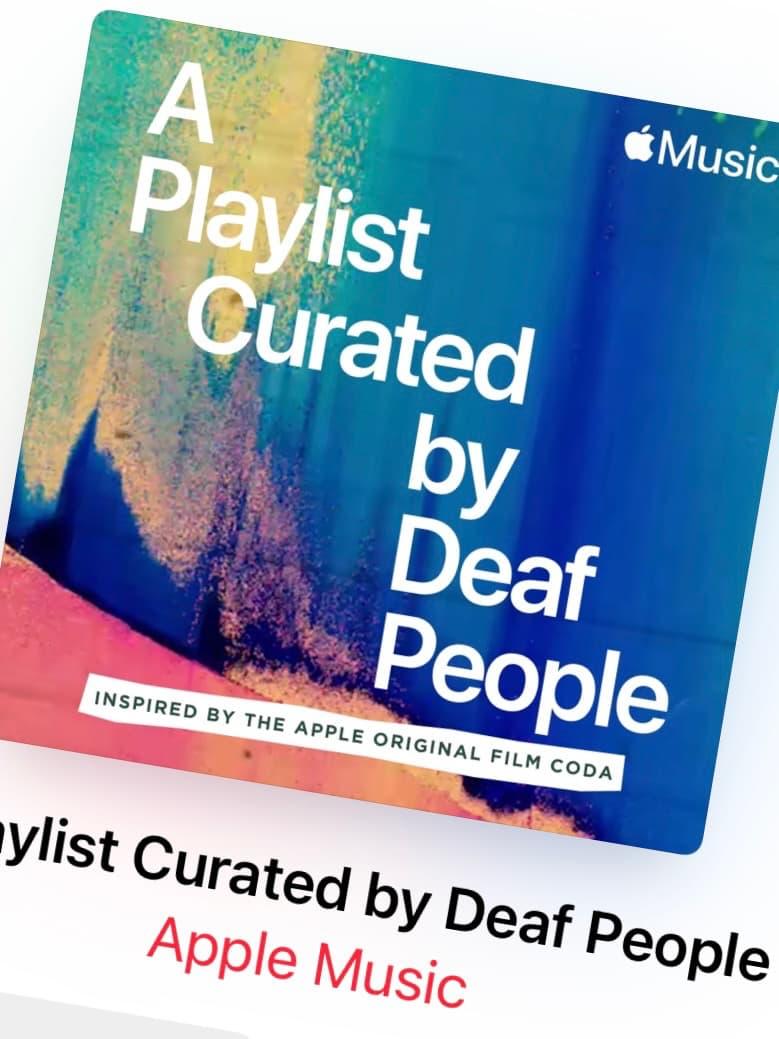 Apple Music släpper spellista för döva
